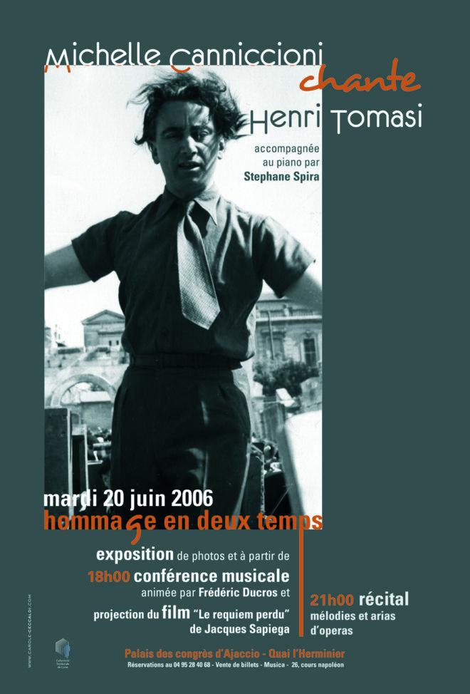 Hommage au Palais des Congrès d'Ajaccio - 2006