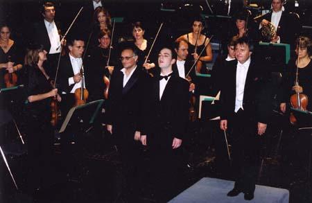 Centenaire 2001 : Concert à Aix - 04 décembre 2001 - avec D. Mesguich