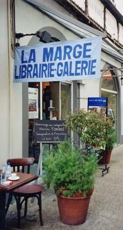 Centenaire 2001 : Exposition - Ajaccio, librairie La Marge - entrée
