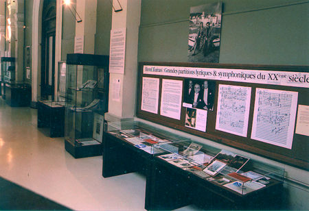 Centenaire 2001 : Exposition au CNR de Marseille