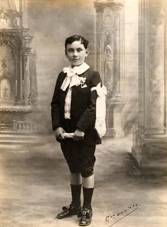 H. Tomasi 1e Communion - 1913