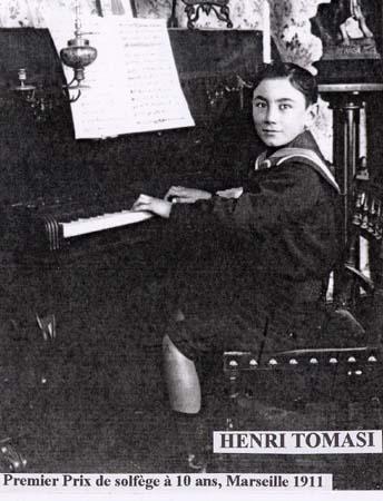 H. Tomasi 1er prix de piano - 1911 (détail)