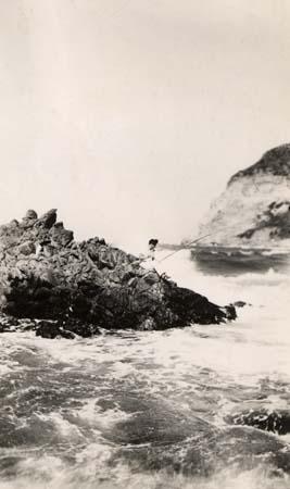 H. Tomasi - Pêche à Albo - 1934