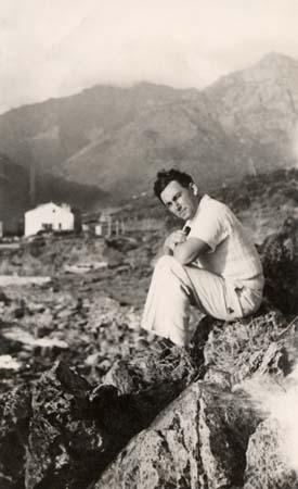 H. Tomasi à Albo - 1934