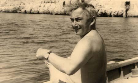 H. Tomasi à Centuri (Cap Corse) - 1953