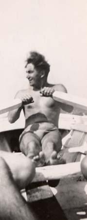 H. Tomasi à Cassis - 1946