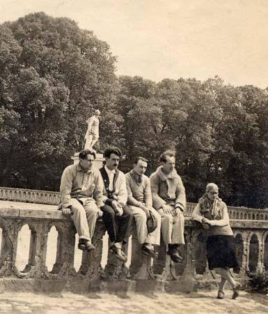 H. Tomasi à Fontainebleau - Concours de Rome 1923-24