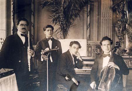 Henri et Xavier Tomasi - La Réserve - 1916-17