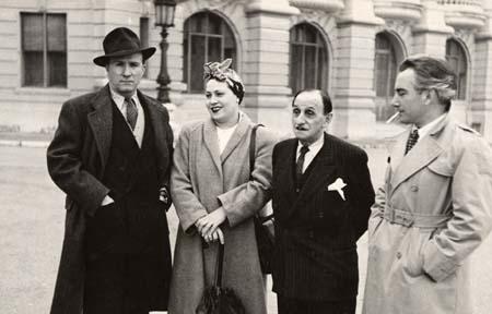 H. Tomasi à Monaco - 1949 (Scotto, Luccioni) - Photo détaillée