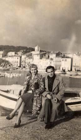 H. Tomasi et O. Camp Port de Cassis - 1941