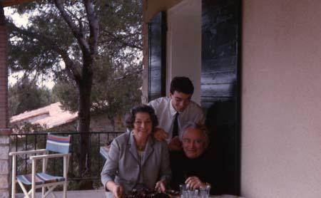 Famille à Cassis - Pâques - 1965