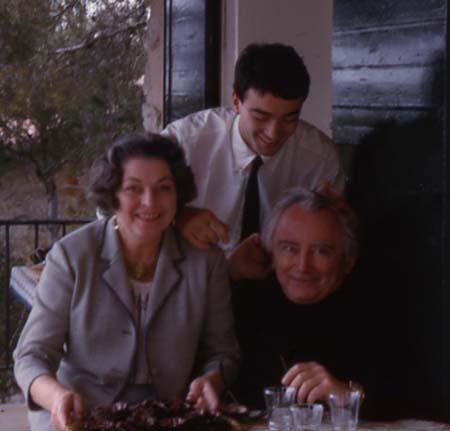 Famille à Cassis - Pâques 1965 (détail)