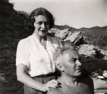H. Tomasi et O. Camp en Corse - 1959