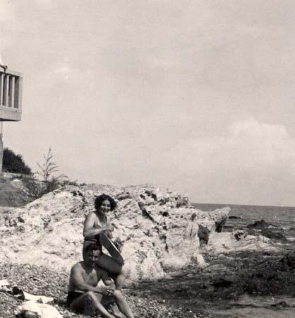 H. Tomasi et O. Camp en Corse - 1932