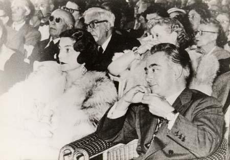 H. Tomasi et O. Camp à Vichy - 1955