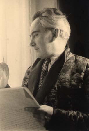 Portrait - 1954 (Photo Lipnitzki-Viollet)