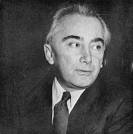 "Portrait ""Guide du concert"" (photo Kirchmeyer) - 1961"