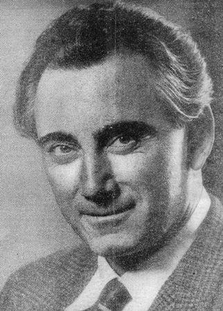 "Portrait dans ""Katholieke Radio Gids"" (Pays-Bas) - 1947"