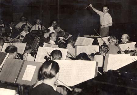 Répétition Holland Festival - 1947