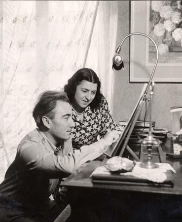H. Tomasi au piano avec Martha Angelici