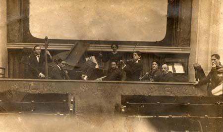 H. Tomasi pianiste au cinéma Le Femina - Marseille 1917