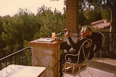 H. Tomasi à Cassis - 1965-66