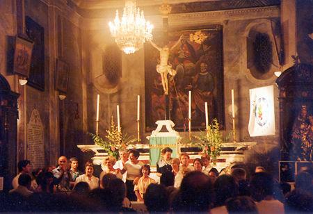 Centenaire 2001 : Concert-Hommage dans l'Eglise de Penta di Casinca