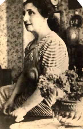 Josephine Vincensini, mère d'Henri