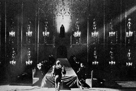 Représentation de Miguel Mañara à Munich - 1956 (acte I - scène 1)