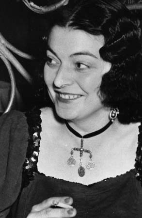 Odette Camp Portrait - Amsterdam 1949