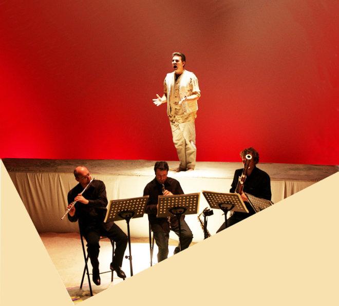 2005 - Théâtre National de la Criée à Marseille, avec Franck Gétreau et le Quintette à Vent de Marseille